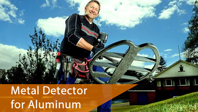 Do metal detector detect aluminum