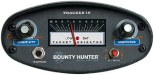 Bounty-Hunter Tracker IV controls