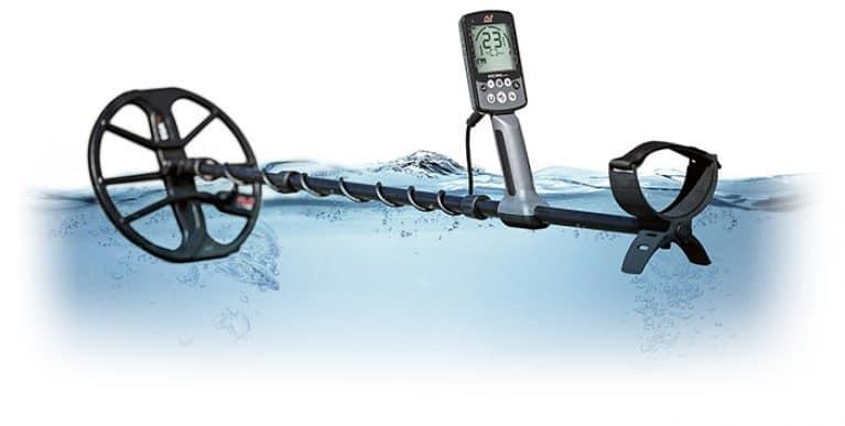 Minelab Equinox 800 waterproof illustration