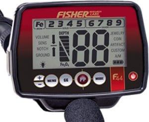 Fisher F44 display