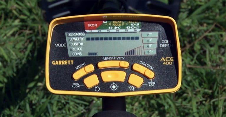 Garrett ACE 400 control box