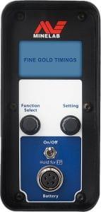 Minelab GPX 5000 metal detector timings