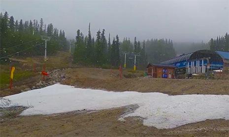 searching ski resort